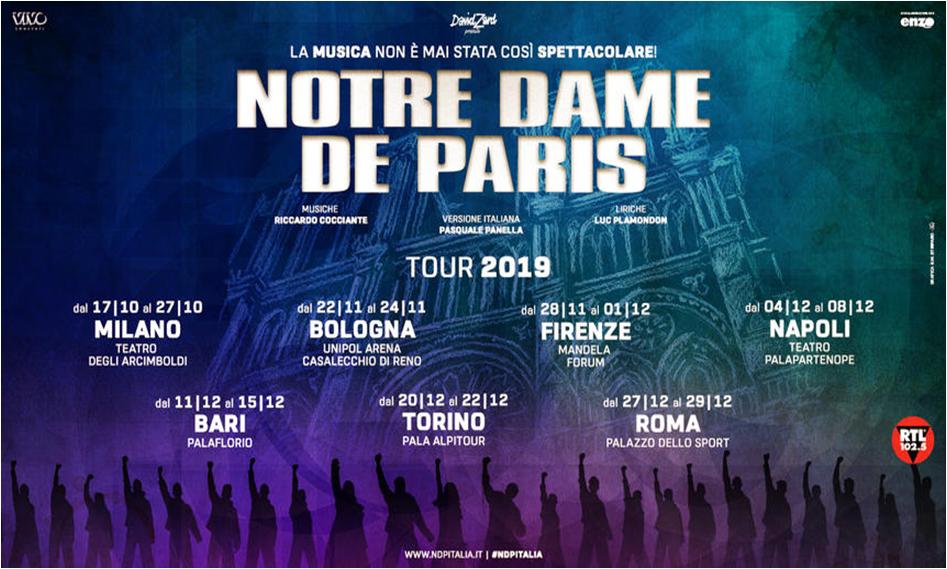Resultado de imagen de NOTRE DAME DE PARIS ROMA
