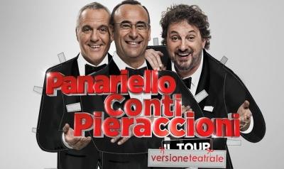 Panariello-Conti-Pieraccioni BERGAMO