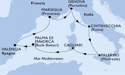 Baleari, Spagna e Francia