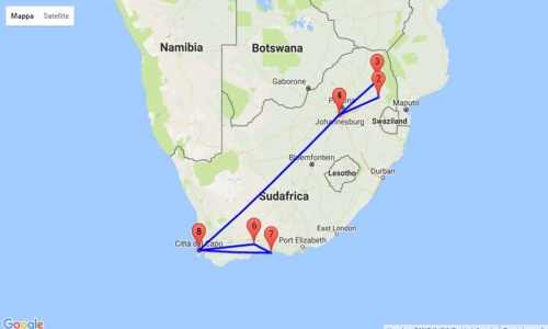 Sudafrica, Route 62 e Garden Route