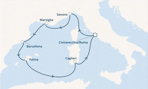 Francia, Spagna e Baleari