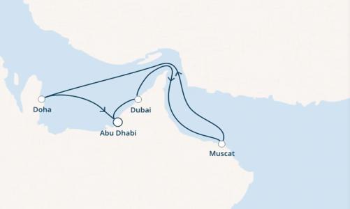 Dubai, Oman, Qatar ed Emirati Arabi