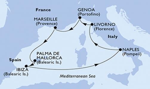 Francia, Isole Baleari