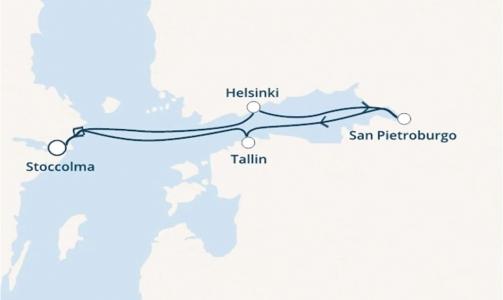 Svezia, Finlandia, Russia ed Estonia