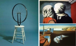 Duchamp, Magritte, Dali